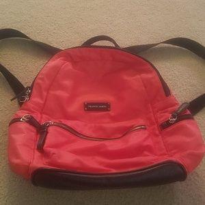 Authentic Franco Sarto mini backpack in tangerine